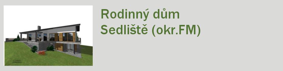 RD SEDLIšTě